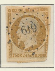 France Stamp Scott #10, Used, Incursion - Free U.S. Shipping, Free Worldwide ...
