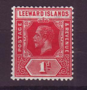 J16740 JLstamps 1912 leeward islands mh #48 king wmk 3