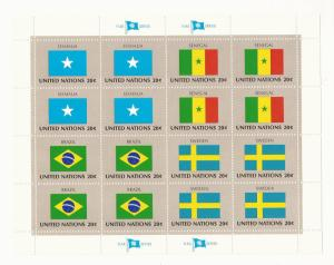 UN NY 1983 - MNH Mini Sheet - Scott #414a