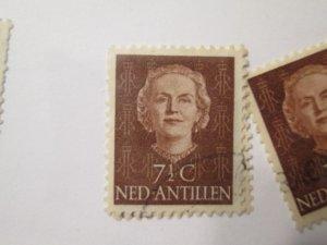 Netherlands Antilles #215  used  2019 SCV = $0.25