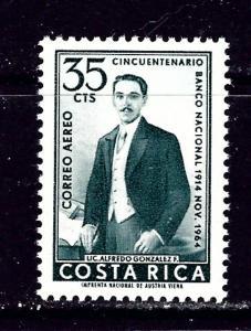 Costa Rica C399 MNH 1965 issue