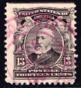 US STAMP #308 1903  13c USED STAMP