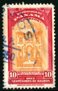PANAMA #346, USED, 1942 - PAN388