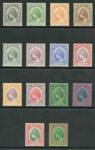 Perak SG88/102 (no 6c scarlet) M/Mint