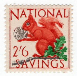 (I.B-CK) Cinderella Collection : National Savings - Squirrel 2/6d