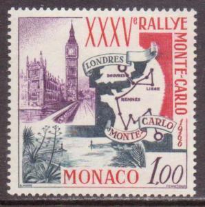 Monaco   #629  MNH  (1966)  c.v. $0.95