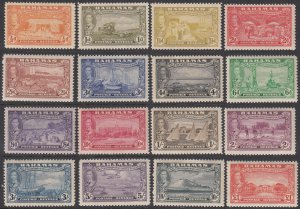 Bahamas 132-147, SG178-193 MH CV $84.95