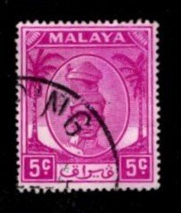 Malaya - Perak - #120 Sultan Shah - Used