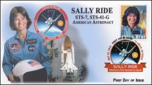 18-112, 2018, Sally K Ride, First Woman Astronaut, DCP, FDC, Space