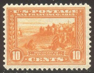 U.S. #400A Mint NH VF - 1913 10c Pan-Pacific, Orange