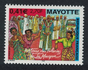 Mayotte Pilgrimage to Mecca SG#131