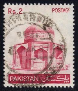 Pakistan #472 Tomb of Ibrahim Khan Makli, used (0.25)