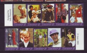 Guernsey Sc 808 2003 Prince William 21 yrs stamps NH