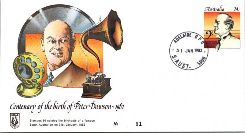 Australia, Postal Stationary, Music