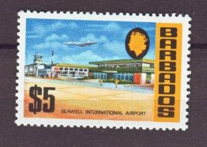 J22316 Jlstamp 1970 barbados hv of set mnh #343 airport