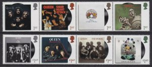 GB Queen set (8 stamps) MNH 2020