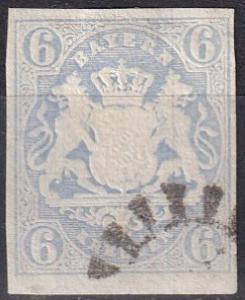 Bavaria #17 F-VF Used  CV $19.00 Z692