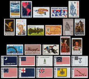 United States Scott 1339-1364 (1968) Mint NH VF Complete Year Set B