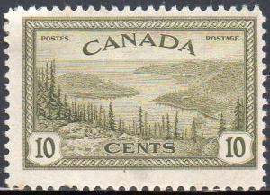 Canada 1946 10c Great Bear Lake, Mackenzie MH