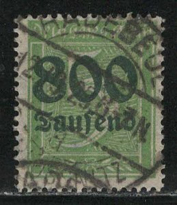 Germany Reich Scott # 261, used, exp h/s