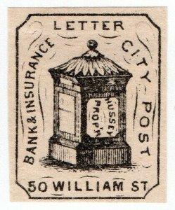 (I.B) US Local Post : Hussey's City Post