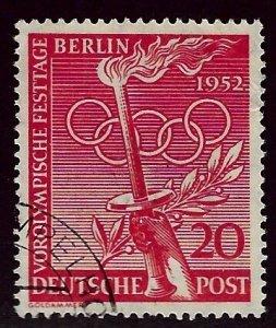 Germany SC#9N83 Used F-VF SCV$26.00...Worth a Close Look!
