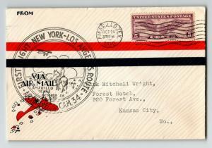 US 1930 FFC NY to LA CAM 34 / Amarillo CDS - Z13678