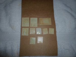 MONACO STAMPS LOT. 10 STAMPS # 6