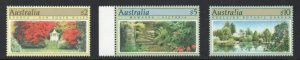 Australia Sc 1132-1134 1989 High Value stamp set mint NH