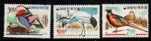 South Korea  493 - 495   MNH $  8.50