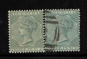 Bermuda SG# 28, Mint Never Hinged and Used - S5149