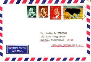 Spain, Airmail, Animals