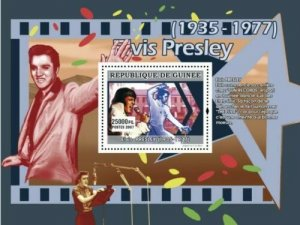 Guinea MNH S/S Elvis Presley 2007