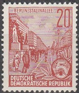 DDR #478  MNH F-VF (SU7110)