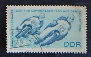 Motorcycle sport, DDR, (1312-T)
