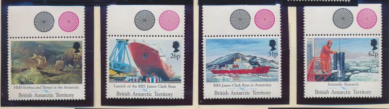 British Antarctic Territory Stamp Scott #184-7, Mint Never Hinged, With Selva...