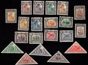 NYASSA Sc 26-29 (1901-1923) MH Collection from a very old Scott Album