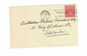 APH1487) Australia 1932 2d Red KGV Die I Small Cover