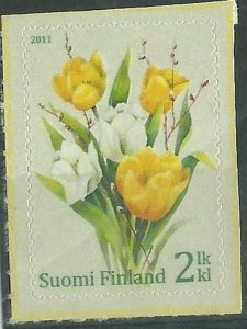 2011  FINLAND - SG: 2151 - TULIPS - S/A - UNMOUNTED MINT