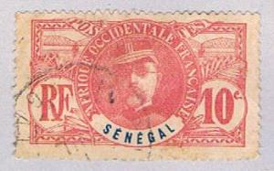 Senegal 61 Used Gen Louis Faidherbe 1906 (BP29919)