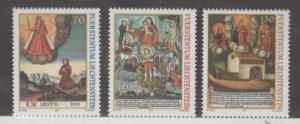 Liechtenstein Scott #1209-1210-1211 Stamps - Mint NH Set