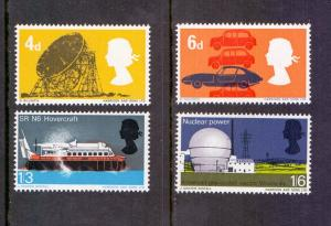 Great Britain 1966 MNH British technology hovercraft