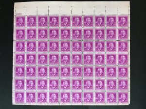1948 sheet - Harlan F. Stone - Sc# 965