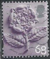 Great Britain: Northern Ireland 16 (used) 68p Parian China