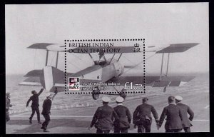 British Indian Ocean Territory Sc# 376 MNH Naval Aviation Centenary (S/S)