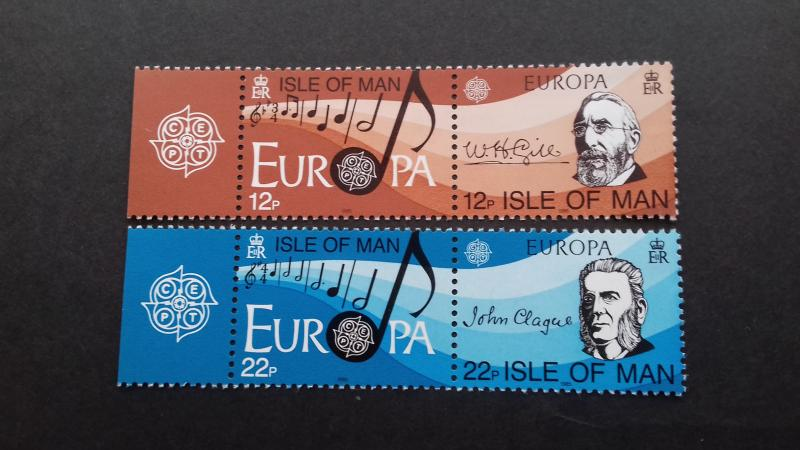 Isle of Man 1985 EUROPA Stamps - European Music Year Mint