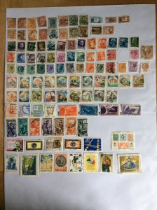 Italy 100+ stamps - Lot E
