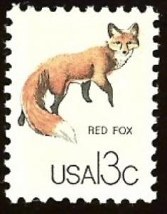 1757g Red Fox F-VF MNH single