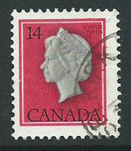 Canada  SG 868 13 x 13 1/2 from VFU