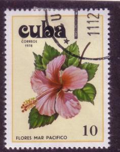 Cuba Sc. # 2223 CTO Flowers